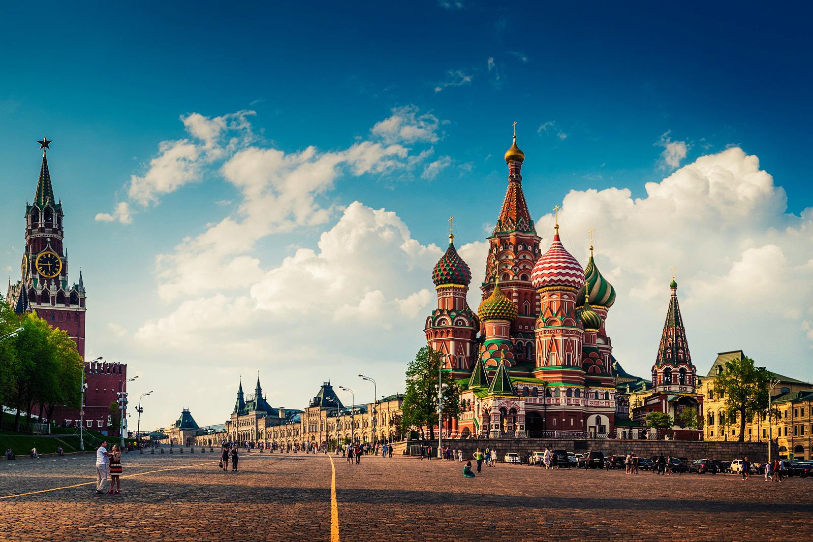 вылеты из Москвы