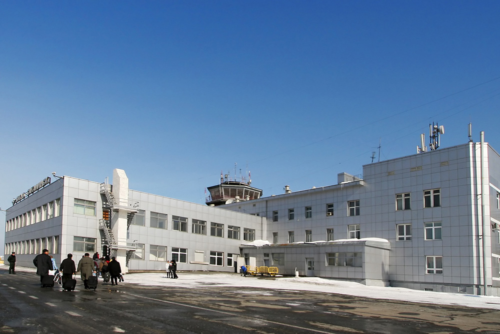 Аэропорт Южно-Сахалинск Хомутово