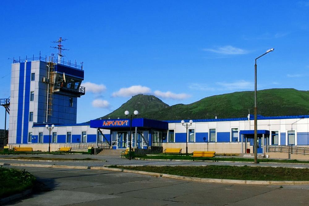 Аэропорт Южно-Курильск Менделеево
