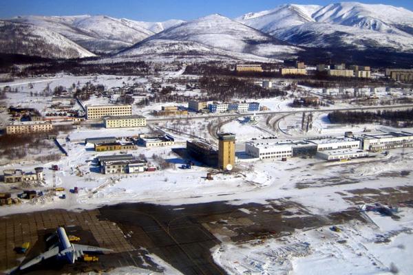 Аэропорт Магадан Сокол