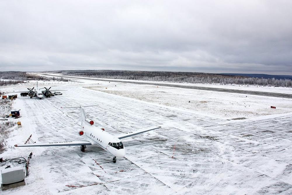 Аэропорт Горный - Тура